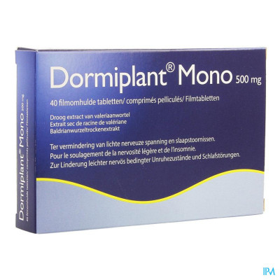 Dormiplant Mono 500 mg 40 tabletten