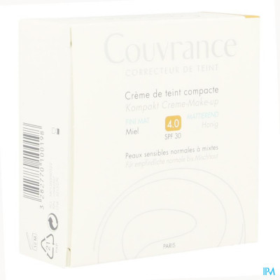 Avene Couvrance Cr Teint Comp.oil-fr. 04 Miel 10g