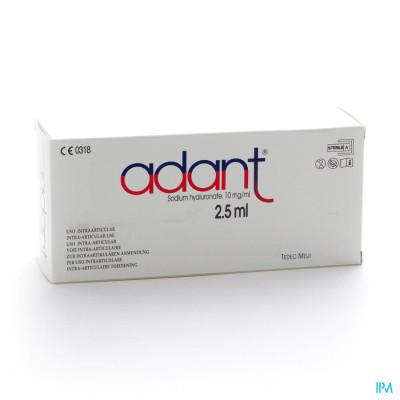 Adant Opl 1% Inj Intra Articul. 3 X 2,5ml