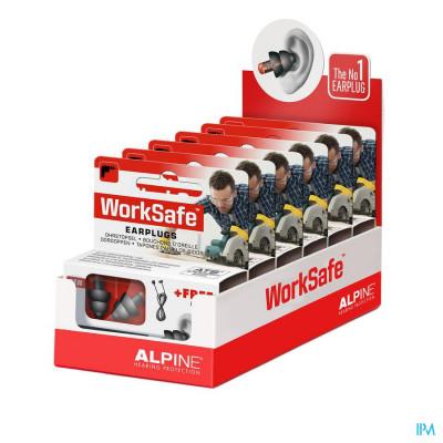 Alpine Worksafe Oordoppen New 1p