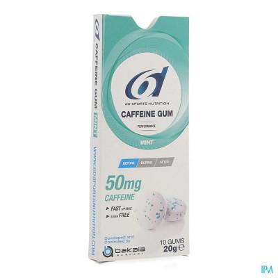 6d Sixd Caffeine Gum Mint 10