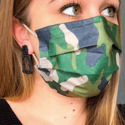 Chirurgisch mondmasker type 2 - 30 stuks legergroen