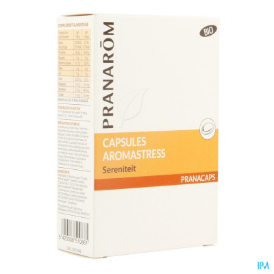 Aromastress Bio Blister Caps 2x15 Pranarom