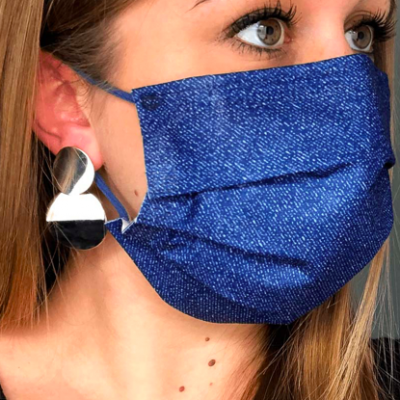 Chirurgisch mondmasker type 2 - 30 stuks jeansblauw
