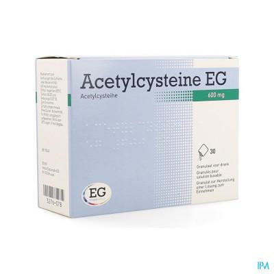 Acetylcysteine Eg 600mg Gran. Vr Drank Zakje 30