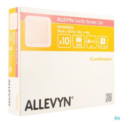 Allevyn Gentle Border Lite 10,0x10,0cm 10 66800835