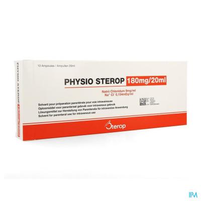 Sterop Physio Iv 20ml 0,9 % 10 Amp
