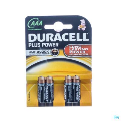 Duracell Mn2400/lr03 4