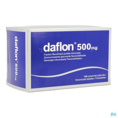 Daflon Impexeco Comp 120x500mg Pip