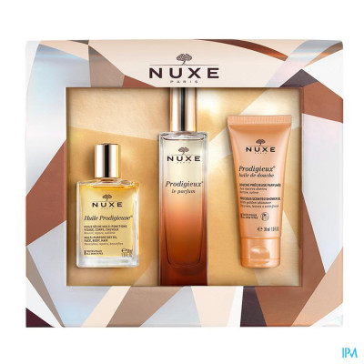 Nuxe Koffertje Kerst Parfum Prodigieux 3 Prod