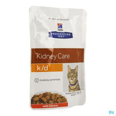 Hills Prescrip.diet Feline Kd Maaltijdzakje 85g