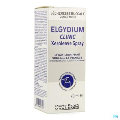 Elgydium Clinic Xeroleave Droge Mond Spray 70ml