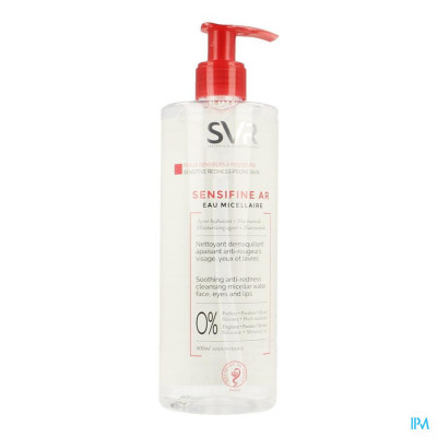 Sensifine A/roodheid Micellair Water 400ml