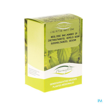 Zoethoutwortel Gepeld Doos 100g Pharmafl