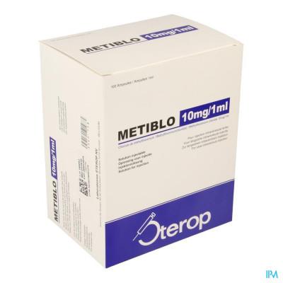 METIBLO 10MG/1ML OPL INJ AMP 100 10MG/ML