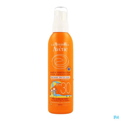 Avene Zonnespray Kind Ip30 200ml