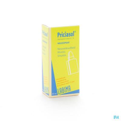 Priciasol N F Spray 20ml