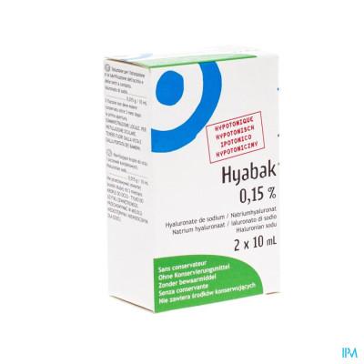 Hyabak 0,15% Duopack Nf Fl 2x10ml Verv.2879617