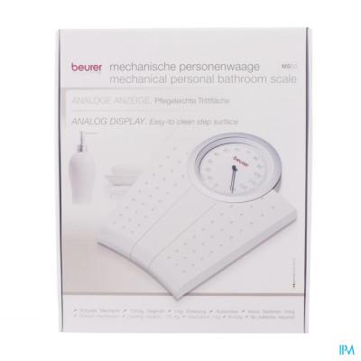 Beurer Weegschaal Mechanisch 135kg/1kg Wit Ms50w