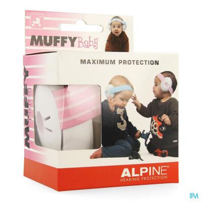 Alpine Muffy Koptelefoon Baby Pink