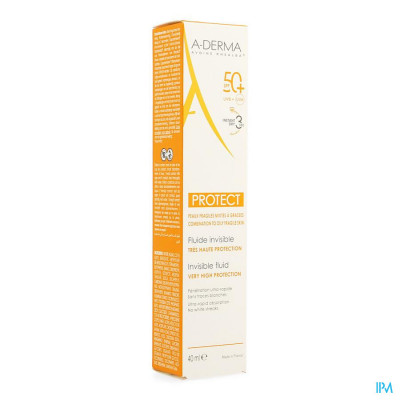 Aderma Protect Fluide Invisible 40ml