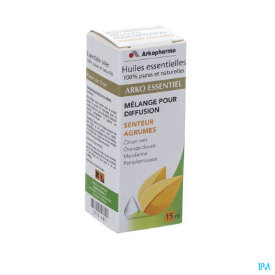 Arko Essentiel Verspreider Citrus 15ml