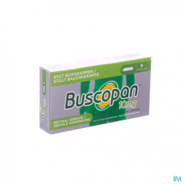Buscopan Supp 6 X 10mg