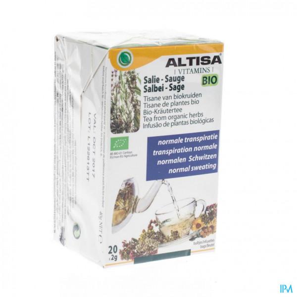 Altisa Tisane Salie Bio 20x2g