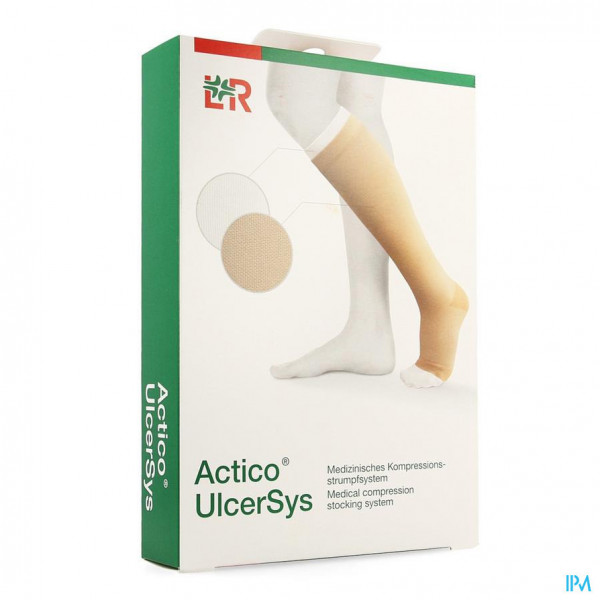 Actico Ulcersys Zand-wit M 38-42cm 32512
