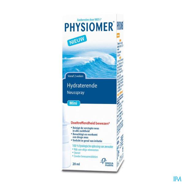 Physiomer Mini Spray 20ml New