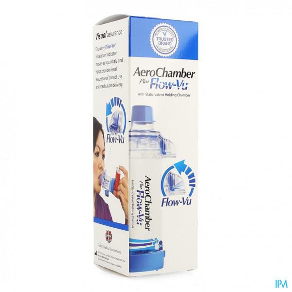 Aerochamber Plus A/static+flow-vu-mouthpiece Adult