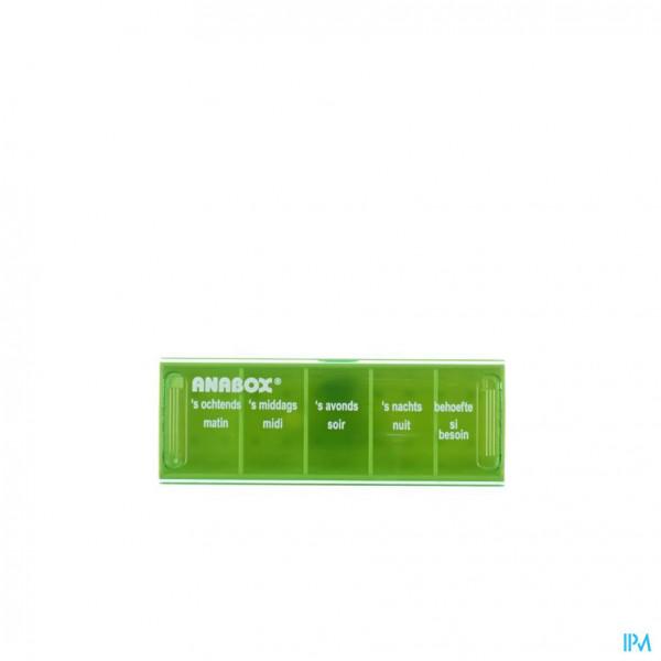 Anabox Pilulier 1 Dag 5 Vakken Fr